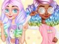 Игри Princesses Kawaii Looks and Manicure